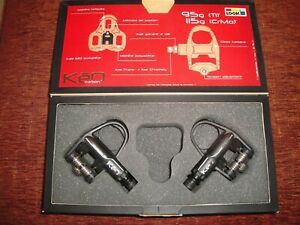 Look Keo carbon pedals boxed in good condition