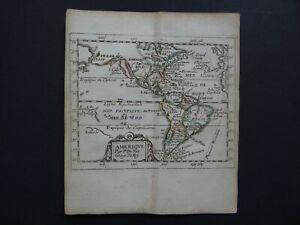 1676 Pierre DU VAL  Atlas map  AMERIQUE - AMERICA - California Island - Duval