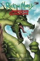 Rick and Morty vs Dungeons & Dragons #4 Mike Vasquez 1:10 SIGNED & REMARKED