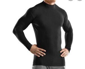 Voodoo Skinz Tactical Moisture Wicking Compression Shirt Black 3XL Long Slv