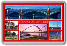 FRIDGE MAGNET - STOCKTON ON TEES - Large - County Durham TOURIST