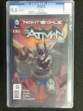 CGC 9.6 Batman #9 N52 New 52 1st First Print Dale Keown  Variant FREE SHIPPING