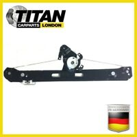 Electric Window Regulator For BMW 3 E46 1998-05 Rear Left side Without Motor