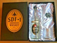 Macross Robotech SDF-1 COMMEMORATIVE WHISKEY U.N.SPACY VERY RARE! COLLECTABLE!