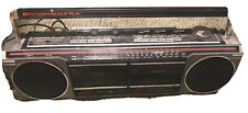 Vintage Ge General Electric 3-5631A Am/Fm Stereo Dual Cassette Recorder