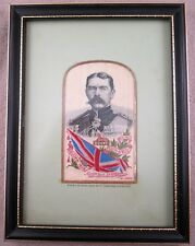 Lord Kitchener of Khartoum Framed Silk Stevengraph