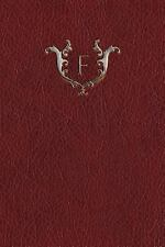 Monogram F Blank Book: By Services, N. D.