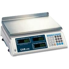 Cas S-2000 Legal for Trade Price Computing Scale 30 lb x 0.01 lb