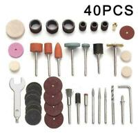 40pcs/set Mini Electric Drill Grinder Rotary Tool Grinding Polis F5X3 I5G8