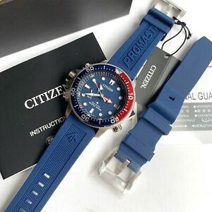 Citizen Promaster Diver Watch * Aqualand BN2038-01L Blue Dial Rubber Strap