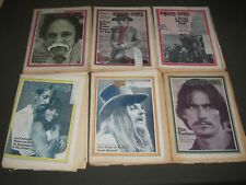 1970-1971 ROLLING STONE MAGAZINE LOT OF 10 - GREAT COVERS & PHOTOS - PB 265
