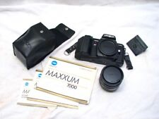 Minolta Maxxum 7000 35mm Camera w/50mm 1.7 Lens 2800 Flash