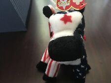 Ty 2000 Lefty Beanie Baby w/tags Donkey Political Great Condition Retired red