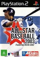 All Star Baseball 2003 PlayStation 2 Game USED