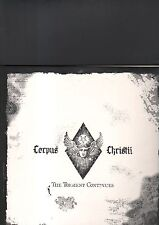 CORPUS CHRISTII - the torment continues LP white vinyl