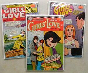 Girls Love Stories #117 119 127 $27.00 LOT (1966, DC) Rosenberger J. SCOTT PIKE