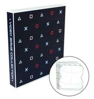 PlayStation Themed Video Game Storage Case, Holds 80 Discs (PS4, PS3, PS2, PS1)