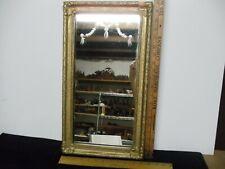 Vintage Gesso Framed Mirror Shabby Chic