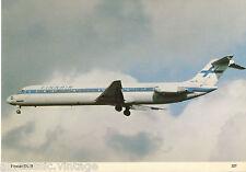Postcard 290 - Plane/Aviation 327 Finair DC-9