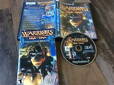 Warriors of Might and Magic (Sony PlayStation 2, 2001) Used Free US Shipping