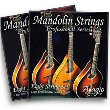 More details for 2 packs mandolin strings with loop ends - light regular gauge long - adagio pro