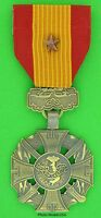 Vietnam Gallantry Cross with Bronze Star Medal full size - Made in the USA