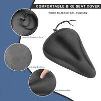Soft Saddle Pad Cushion Cover Gel Silicone Seat for Mountain Bike Bicycle saddle