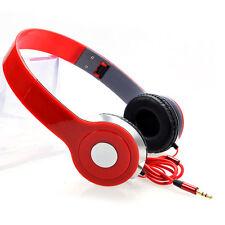3.5mm Plegable Cerrado Audio Auriculares Juegos para iPad iPhone iPod PC