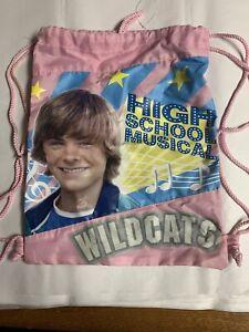 Zac Efron High School Musical Drawstring Bag