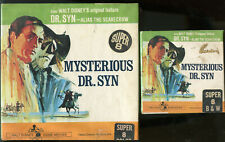 """SUPER 8 SILENT-""""MYSTERIOUS DR. SYN'-50' AND 200' B/W AND COLOR DIGESTS-SEALED"""