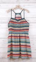 New Xhilaration Sleeveless Racerback Striped Sun Dress Multicolored Womens Xs-Xl