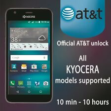 UNLOCK CODE AT&T FOR KYOCERA DuraForce E6560 HydroAir C6745  ONLY FACTORY UNLOCK