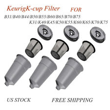 3 Pack My K-Cup Reusable Replacement Coffee Filter Refillable Holder for Keurig