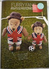 ENGLISH  LIONS TOY KNITTING PATTERN