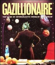 Gazillionaire PC CD comic monopoly intergalactic trader business simulation game