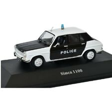 Simca 1100 Policía police  1:43 coche Atlas Diecast