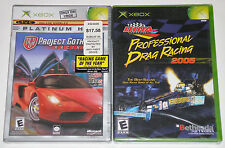 XBox Game Lot - Project Gotham Racing 2 (New) IHRA Professional Drag Racing 2005