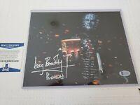 DOUG BRADLEY SIGNED PINHEAD HELLRAISER 8X10 PHOTO AUTOGRAPHED BECKETT COA BAS