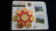 "France coins ""TOKIO Int Coin Convention 2014"" BU set  Monnaie de Paris blister"