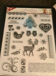 Season's Greetings Clear Stamps Signature Collection