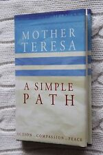 A Simple Path by Mother Teresa (Hardback, 1995)Like New, free shipping+ tracking