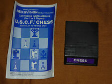 Chess  (Intellivision, 1985) with Book!