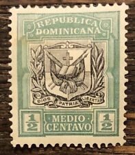 DOMINICAN REPUBLIC  1905/6 Coat of Arms  Small lot of Used Stamps
