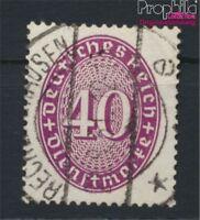 Deutsches Reich D121Y liegendes WZ gestempelt 1927 Ziffern im Oval (8984236