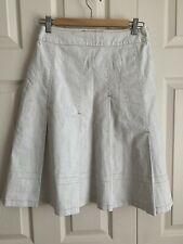 Eva & Claudi ladies 100% linen pleated skirt size