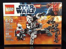 LEGO Star Wars Elite Clone Trooper Commando Droid Battle Pack 9488 NISB
