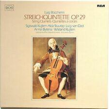 BOCCHERINI THE 6 STRING QUINTETS - KUIJKEN/BYLSMA ao: RCA RL 30441 - 2X LP NM
