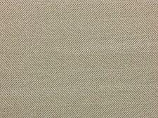 "BALLARD DESIGNS DAVIDSON HERRINGBONE OATMEAL BEIGE WOVEN FABRIC BY THE YARD 56""W"