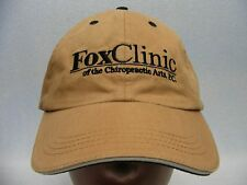 FOX CLINIC OF THE CHIROPRACTIC ARTS - EMBROIDERED - ADJUSTABLE BALL CAP HAT!