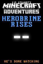 Herobrine Rises: A Minecraft Adventure (Minecraft Adventures) (Volume-ExLibrary